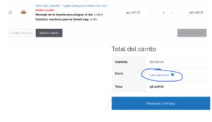 Desayunos a domicilio en Madrid y en toda España - Desayunos Kubala - Soluciones calcular precio envíos. PAGINA AYUDA