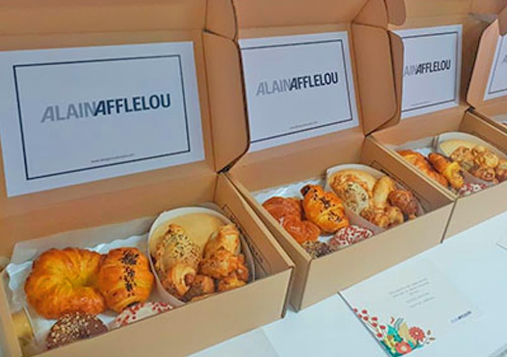 Desayunos a domicilio en Madrid y en toda España - Desayunos Kubala - Página catering - Catering Alain Afflelou