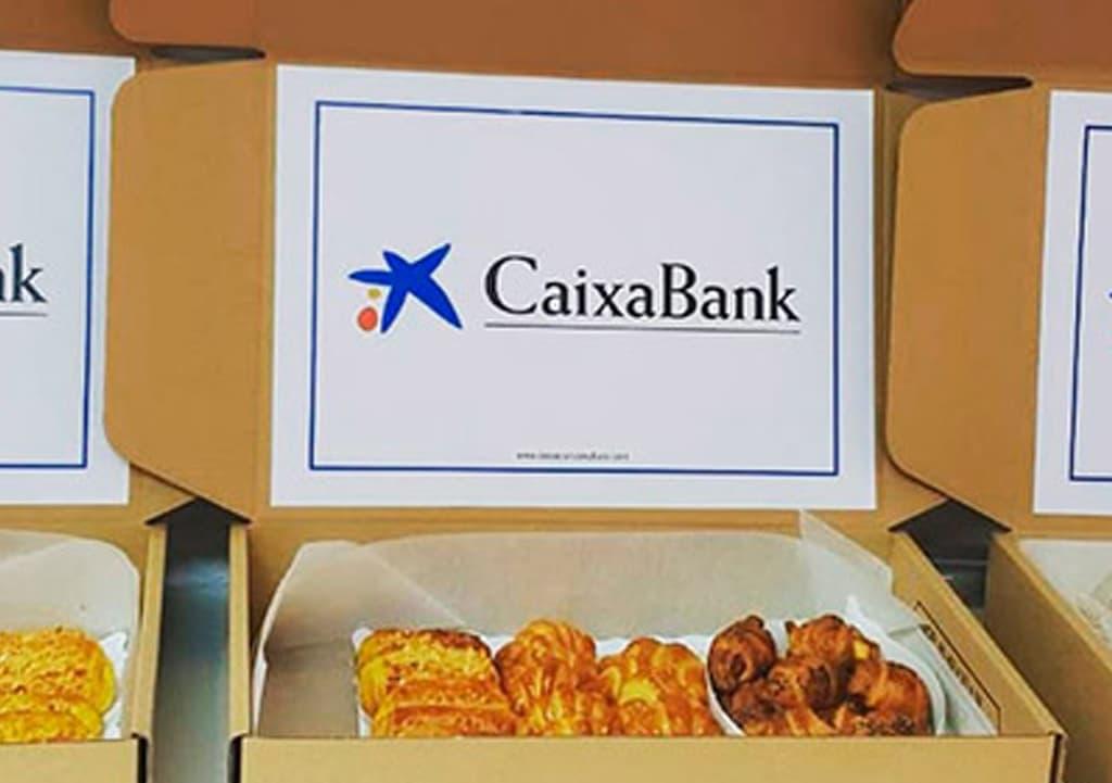 Desayunos a domicilio en Madrid y en toda España - Desayunos Kubala - Página catering - Catering Caixa Bank