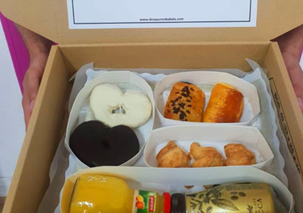 Desayunos a domicilio en Madrid y en toda España - Desayunos Kubala - Página catering - Catering L'oreal