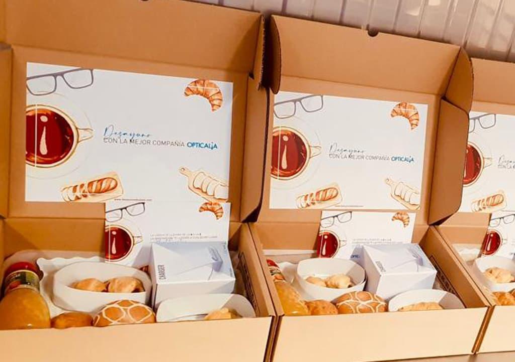 Desayunos a domicilio en Madrid y en toda España - Desayunos Kubala - Página catering - Catering Opticalia
