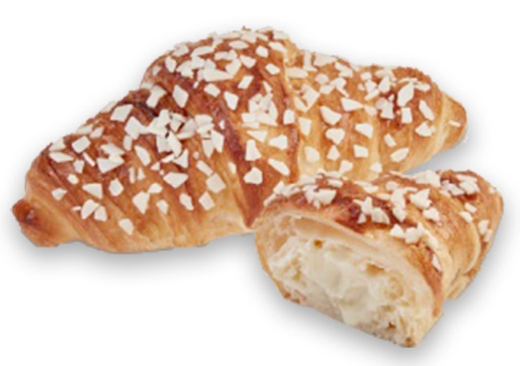 Desayunos a domicilio en Madrid y en toda España - Desayunos Kubala - Croisant bicolor de bombón blanco