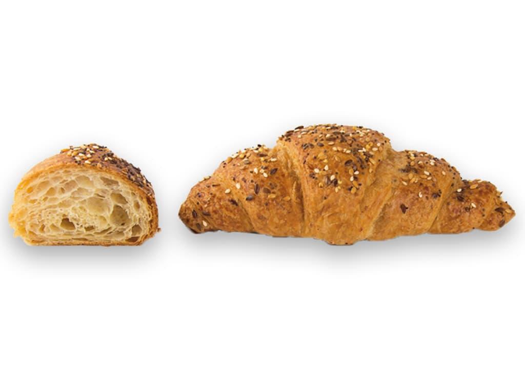 Desayunos a domicilio en Madrid y en toda España - Desayunos Kubala - Croisant multicereal