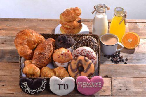 Desayunos a domicilio en Madrid y en toda España - Desayunos Kubala - Desayuno Dulce