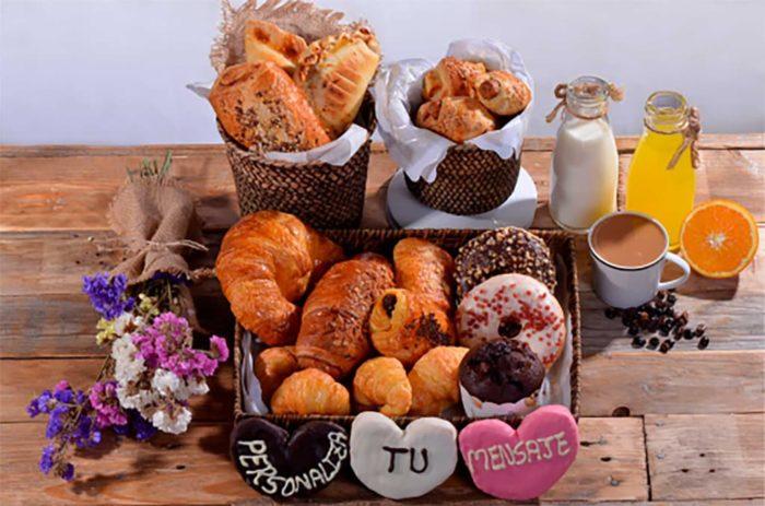 Desayunos a domicilio en Madrid y en toda España - Desayunos Kubala - Desayuno Dulce y salado