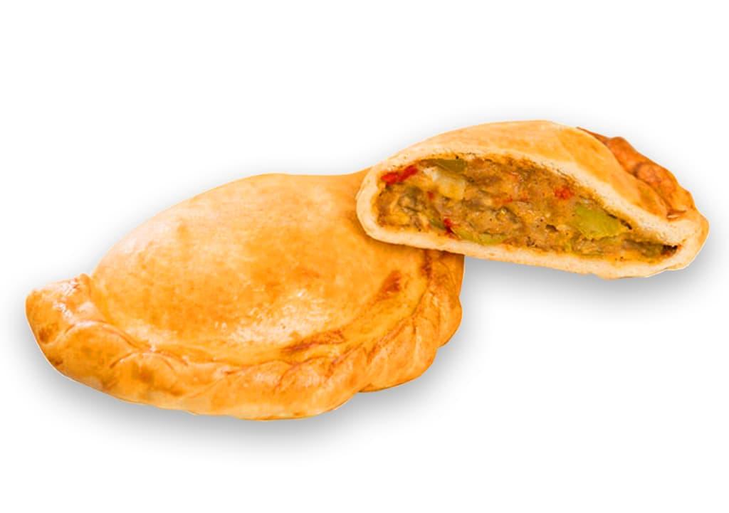 Desayunos a domicilio en Madrid y en toda España - Desayunos Kubala- Empanadilla de carne