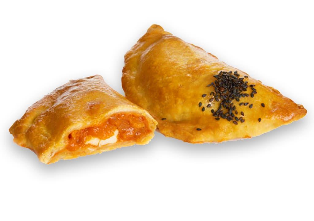 Desayunos a domicilio en Madrid y en toda España - Desayunos Kubala- Empanadilla de pisto manchego