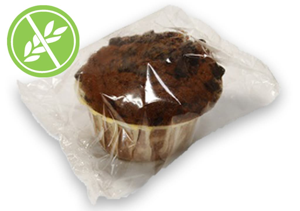 Muffin de chocolate sin gluten