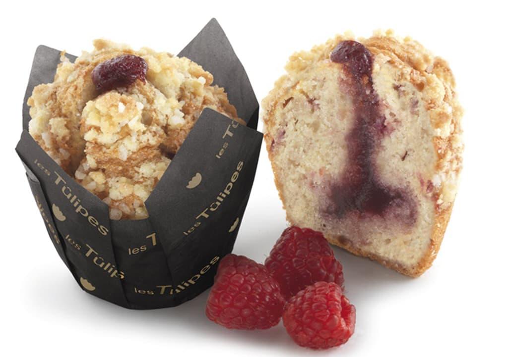 Desayunos a domicilio en Madrid y en toda España - Desayunos Kubala - Muffin de arándanos y yogurt