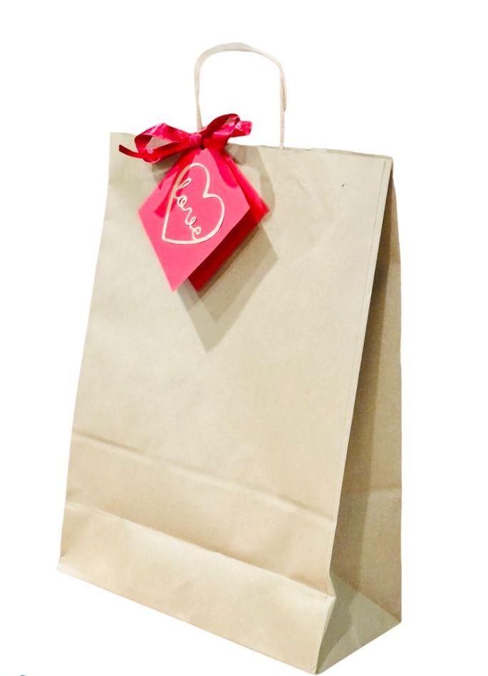 Desayunos a domicilio en Madrid y en toda España - Desayunos Kubala - Sweet bag de bombones de San Valentín - bolsa padkaging