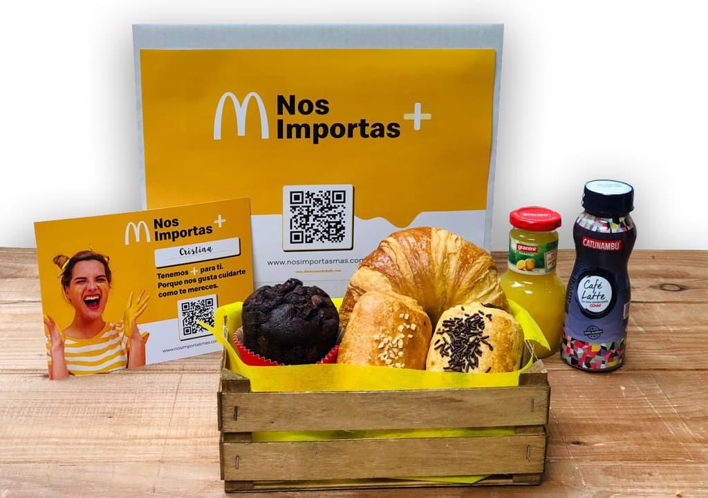 Desayunos a domicilio en Madrid y en toda España - Desayunos Kubala - Página catering - Catering Mcdonalds