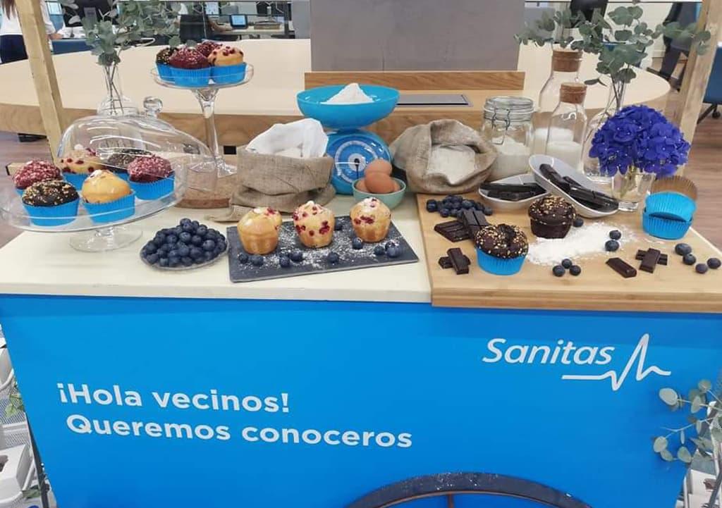Desayunos a domicilio en Madrid y en toda España - Desayunos Kubala - Página catering - Catering Sanitas