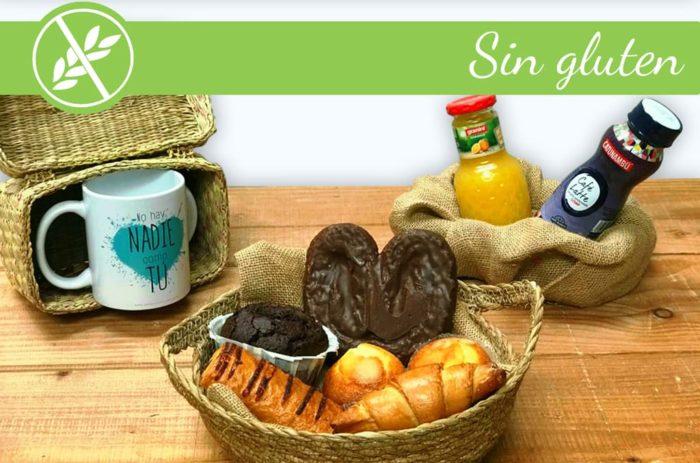 Desayunos a domicilio en Madrid y en toda España - Desayunos Kubala -Desayuno Sin gluten para celiacos