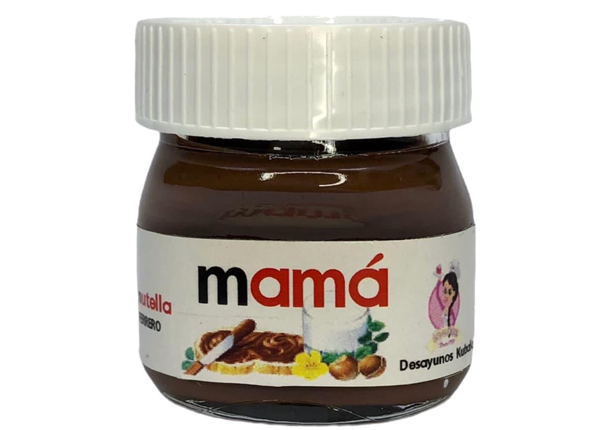 Desayunos a domicilio en Madrid y en toda España - Desayunos Kubala - Bote Nutella Mamá