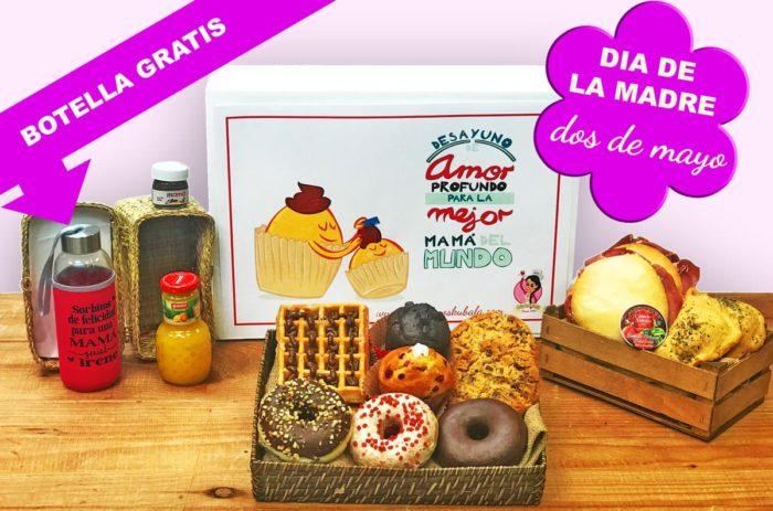 Desayunos a domicilio en Madrid y en toda España - Desayunos Kubala - Desayuno Súper mamás
