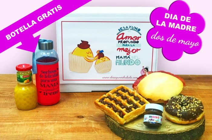 Desayunos a domicilio en Madrid y en toda España - Desayunos Kubala - Desayuno mamás molonas