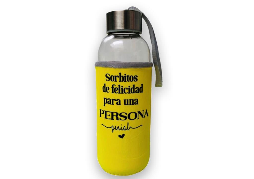 Desayunos a domicilio en Madrid y en toda España - Desayunos Kubala - Botella amarilla