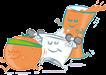 Desayunos a domicilio en Madrid y en toda España - Desayunos Kubala - personajes - Healthy - sin gluten + healthy green