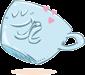 Desayunos a domicilio en Madrid y en toda España - Desayunos Kubala - personajes -personajes - Taza qiuere té -